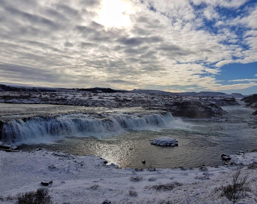 Faxafoss in IJsland