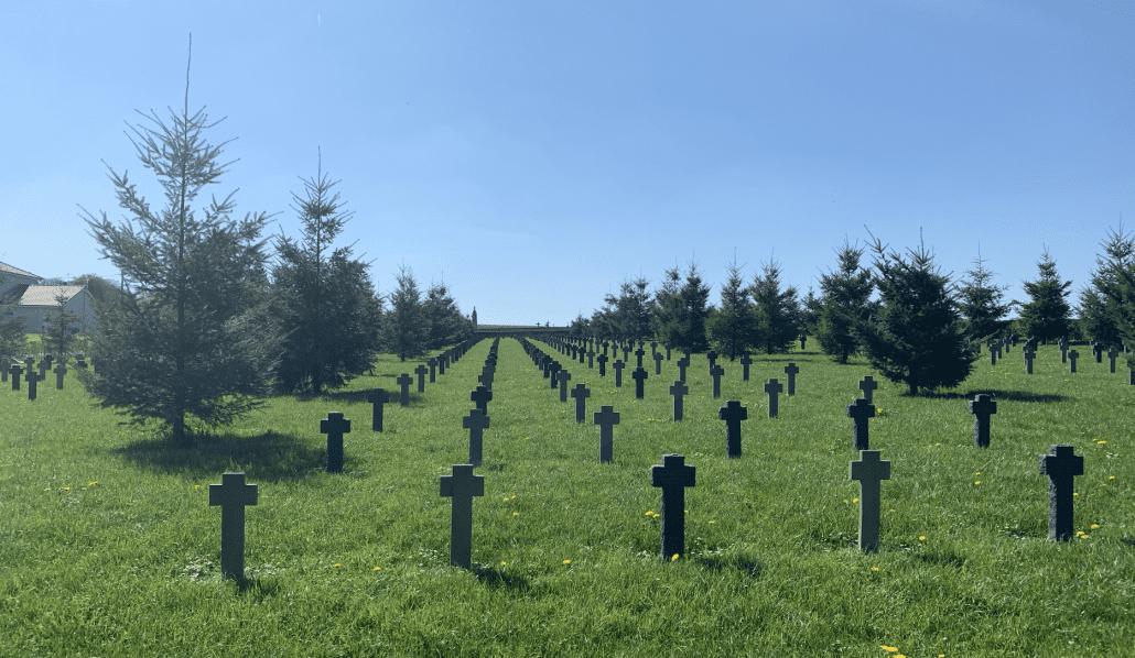 Duitse begraafplaatsen