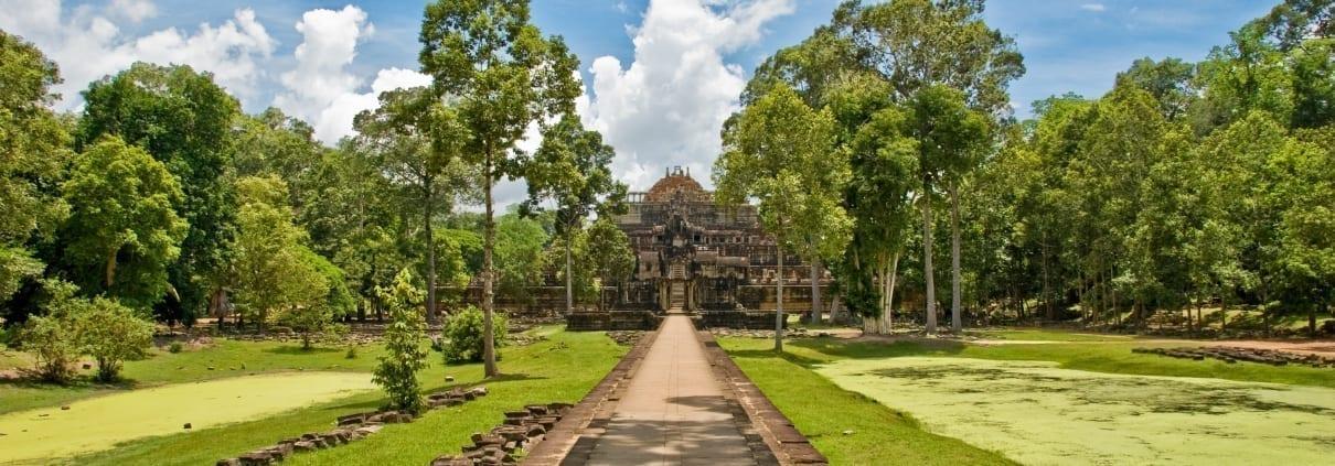 Verborgen tempels van Angkor Tom