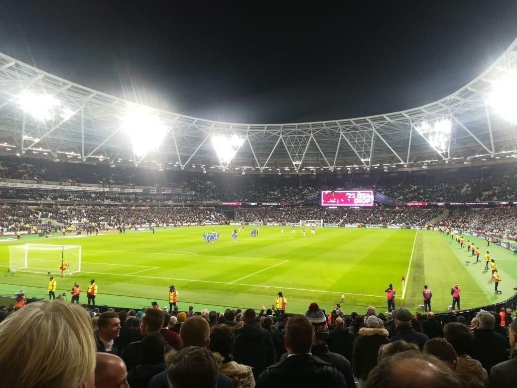 Op voetbaltrip naar Londen: West Ham United