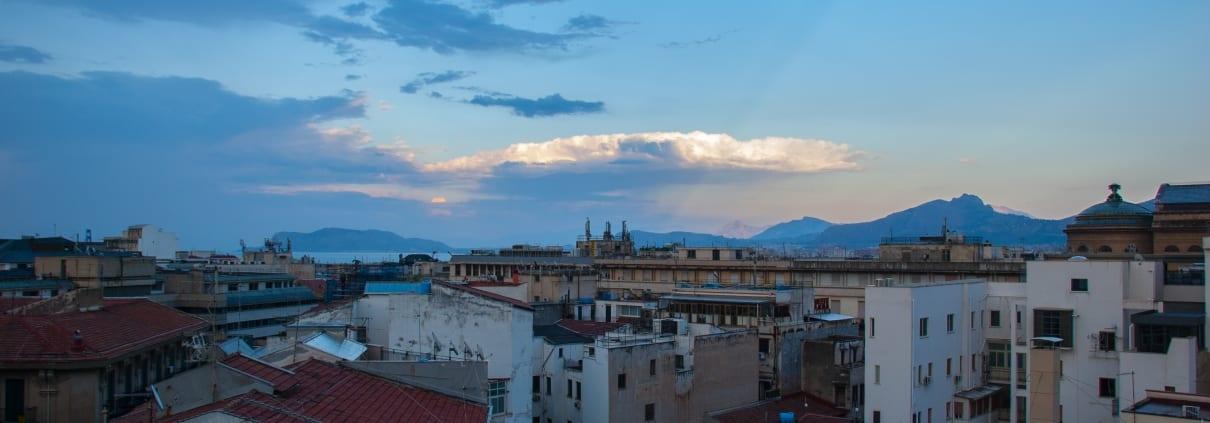 Uitzicht over Palermo