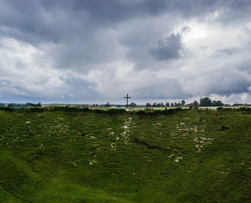 De Slag aan de Somme werd gestart door het opblazen van mijnen onder La Boiselle. Het gevolg: Lochnagar Crater