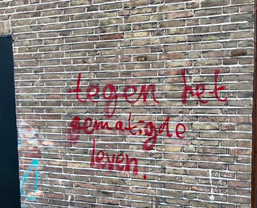 Streetart in Amsterdam-Noord