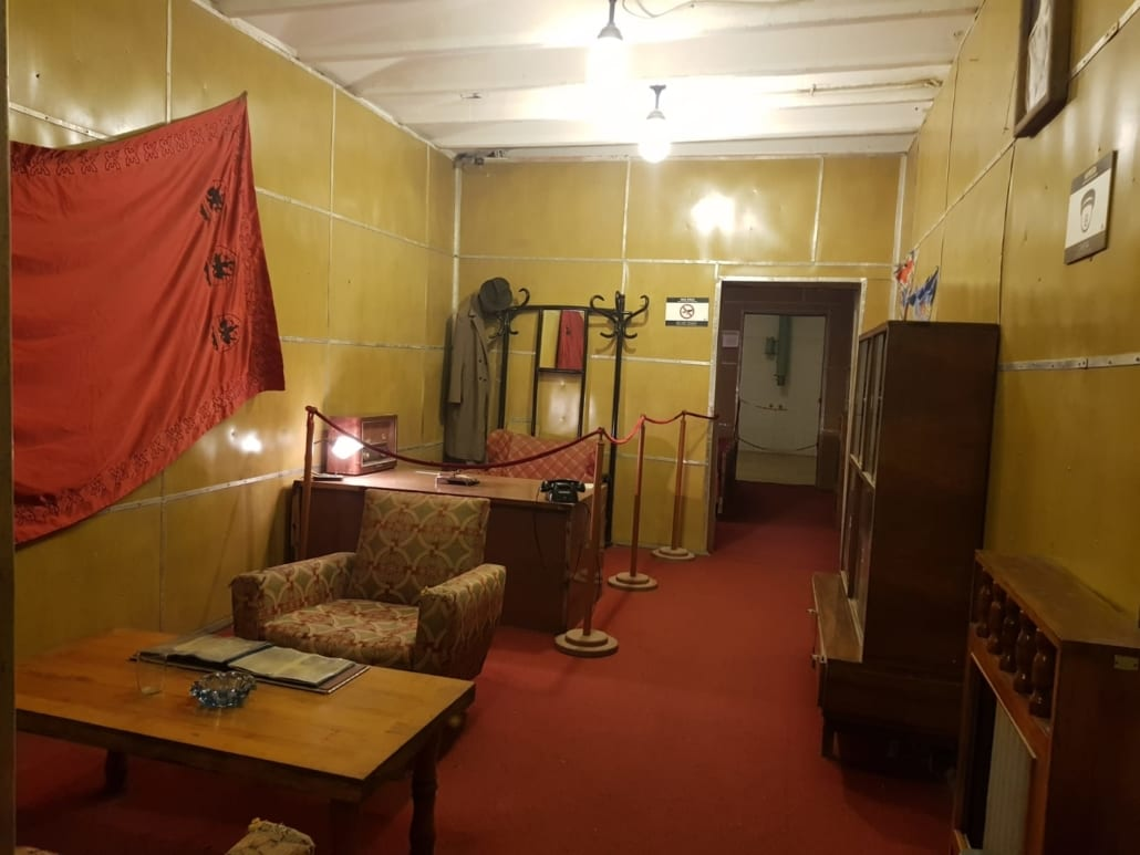 Werkkamer van Enver Hoxha
