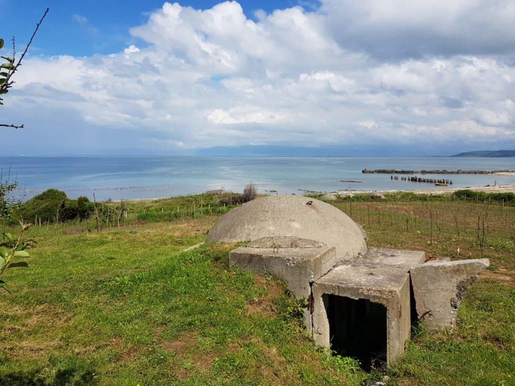 Typisch Albanese bunker