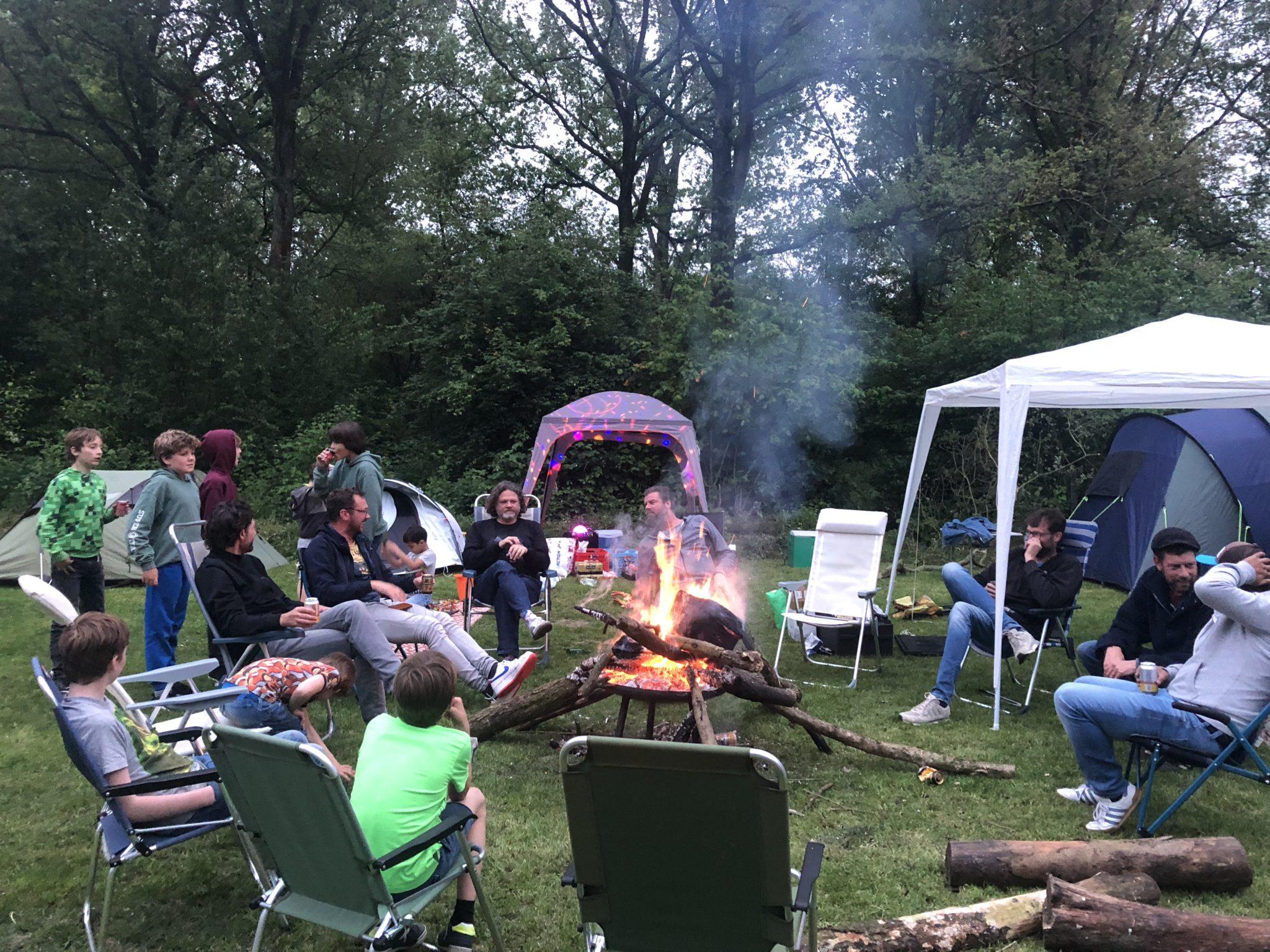 Chaos en anarchie op Camping de Lievelinge