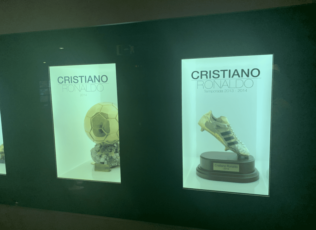 Gouden schoen van Cristiano Ronaldo