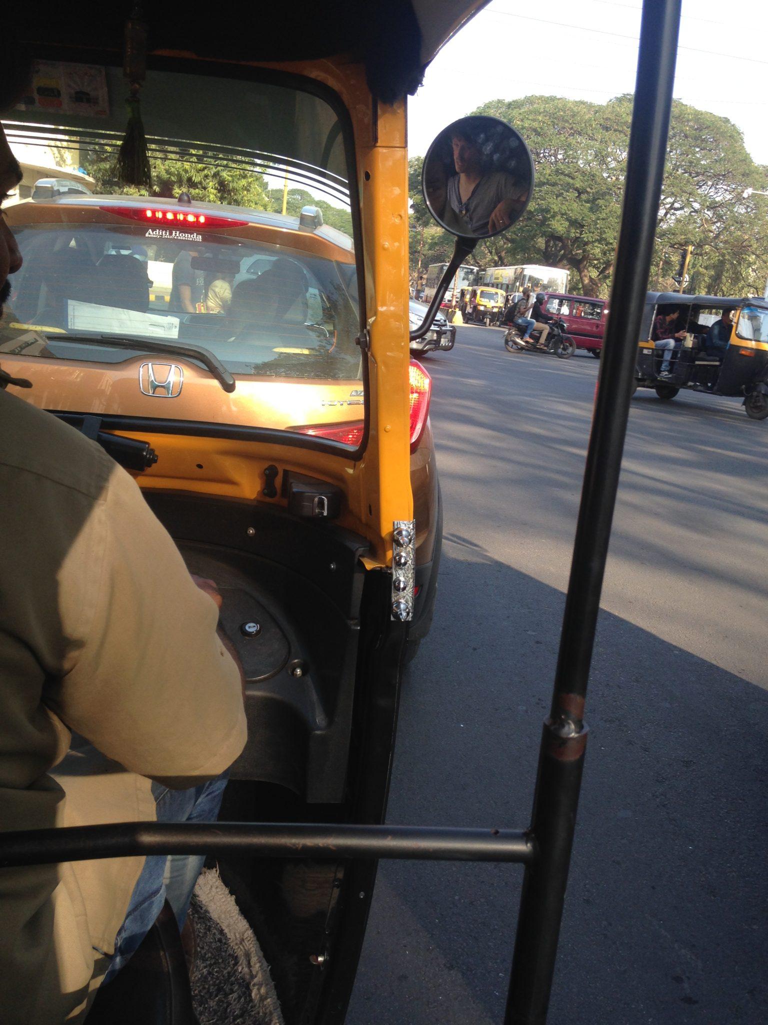 India: op pad met de tuktuk