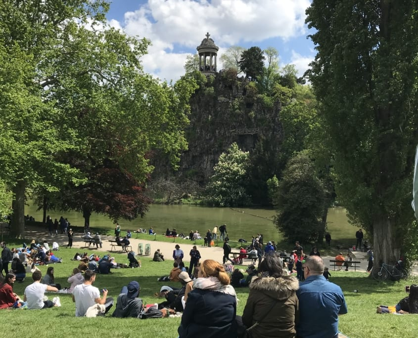 Parijs: Parc Buttes Chaumont
