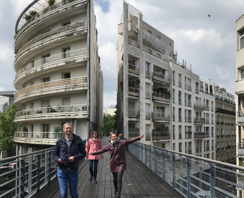 Promenade Plantee: lopen tussen de gebouwen
