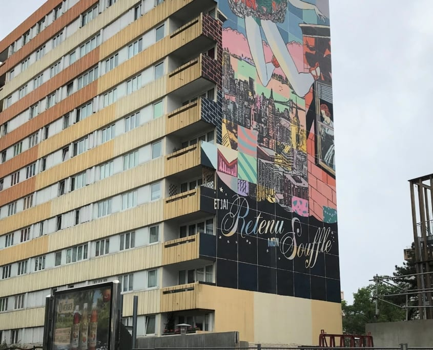 Streetart in Parijs