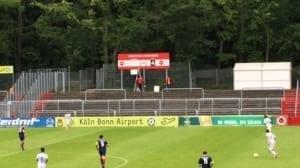 Zo houdt met bij Viktoria Köln de score bij