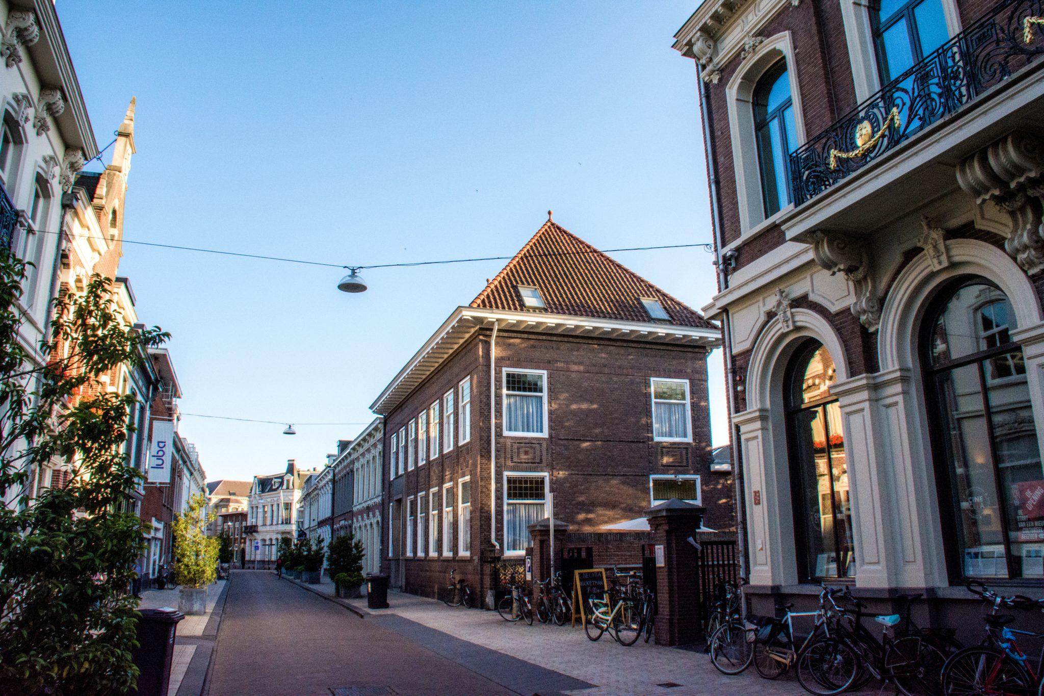 Sfeerbeeld van de Willem II-straat