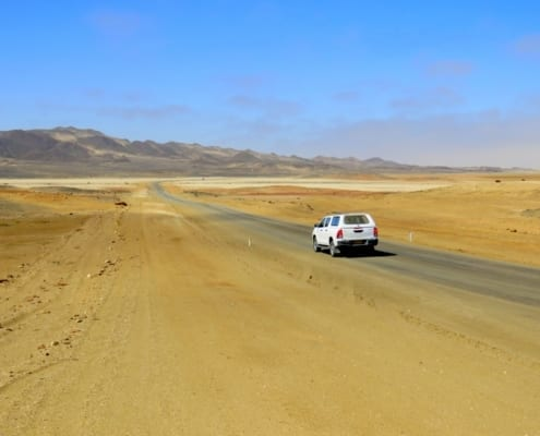 Onderweg langs de Skeleton Coast