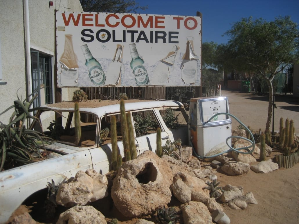 Solitaire: in the middle of nowhere