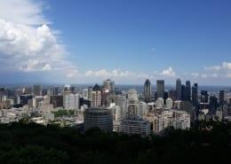 Uitzicht van le Mont Royal