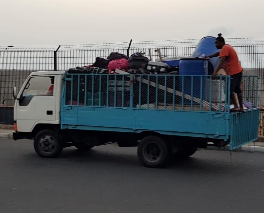Hypermodern bagagevervoer