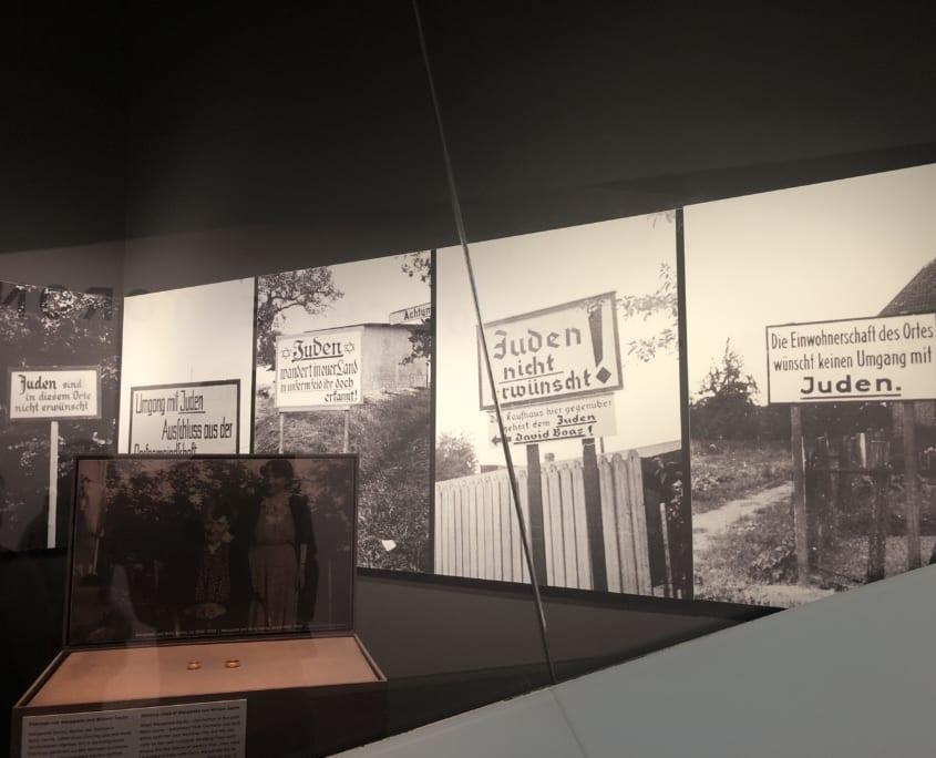 Getuigenissen aan de holocaust.