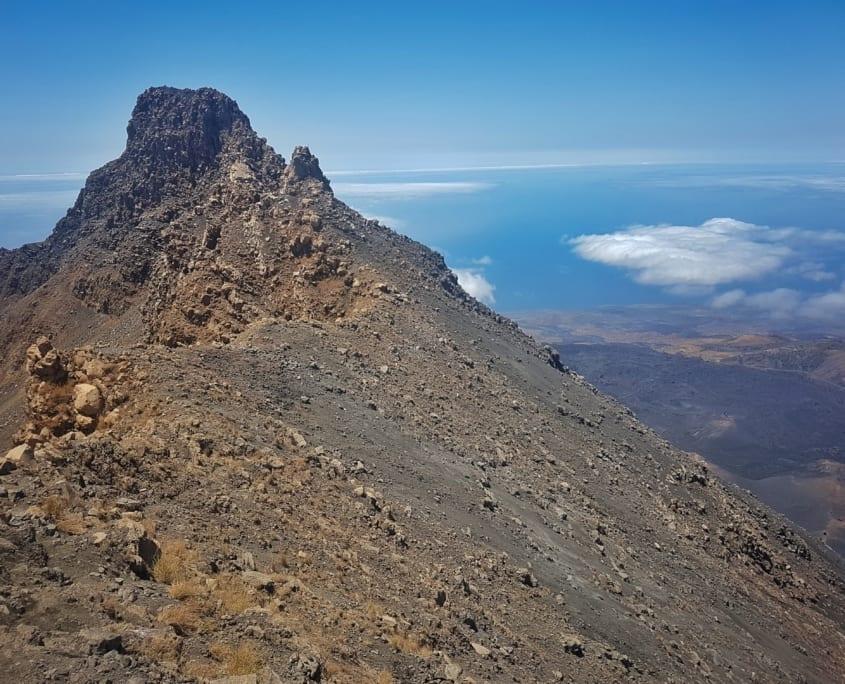 Op de top van de Pico do Fogo