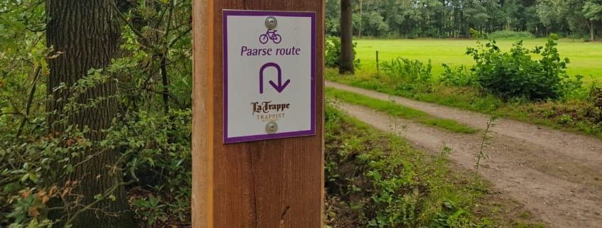Paarse trappistenroute