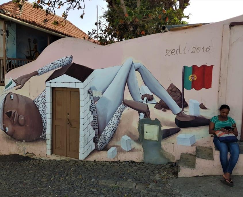 Fogo: streetart in São Filipe