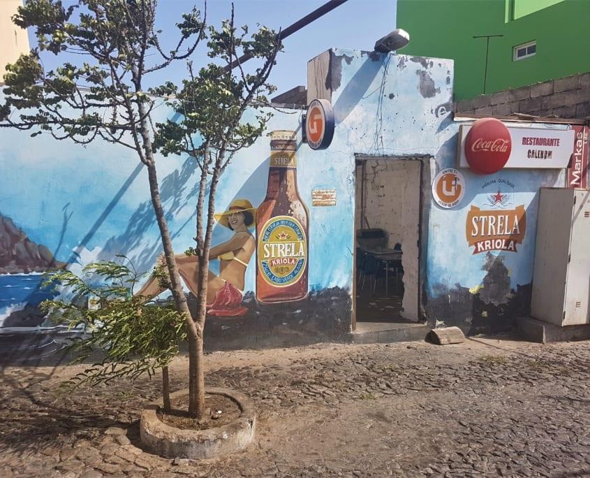 Fogo: Strela mural in São Filipe
