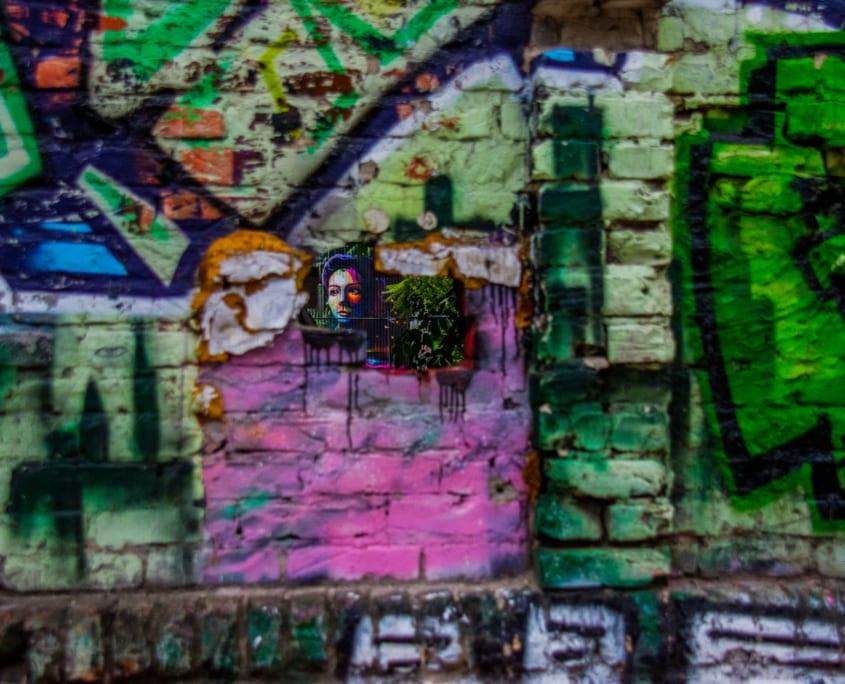 Typisch Berlijn: de streetart in Cassiopeia.