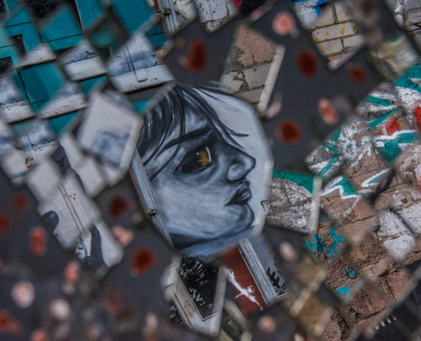 Berlijn z'n idee van kunst; je moet er maar van houden.