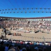 Circusspelen tijdens Le Signe du Triomphe