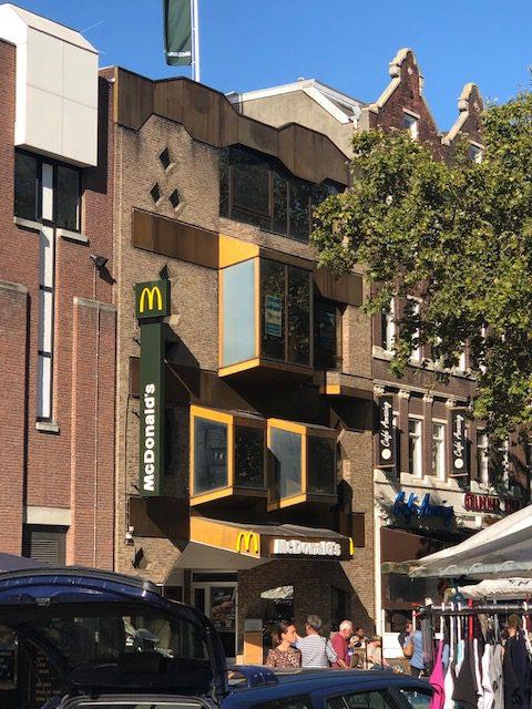 In Heerlen staat, true to form, de lelijkste McDonalds ter wereld