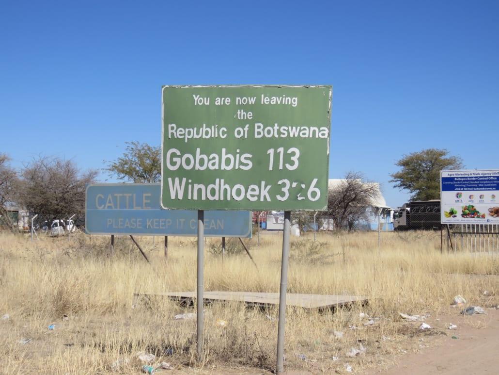 Bye bye Botswana