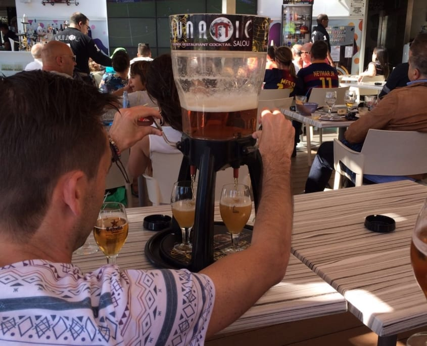 Bier halen, maar dan anders