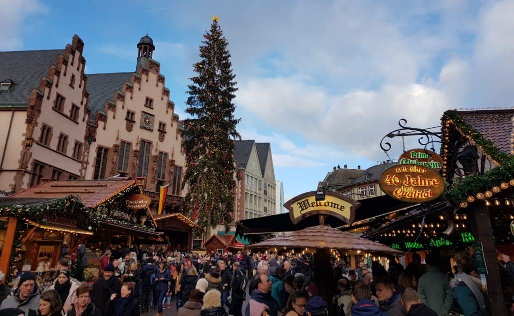 Typisch Duitse kerstmarkt