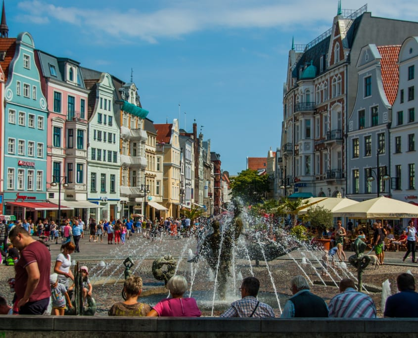 Rostock. Of toch Disneyland?