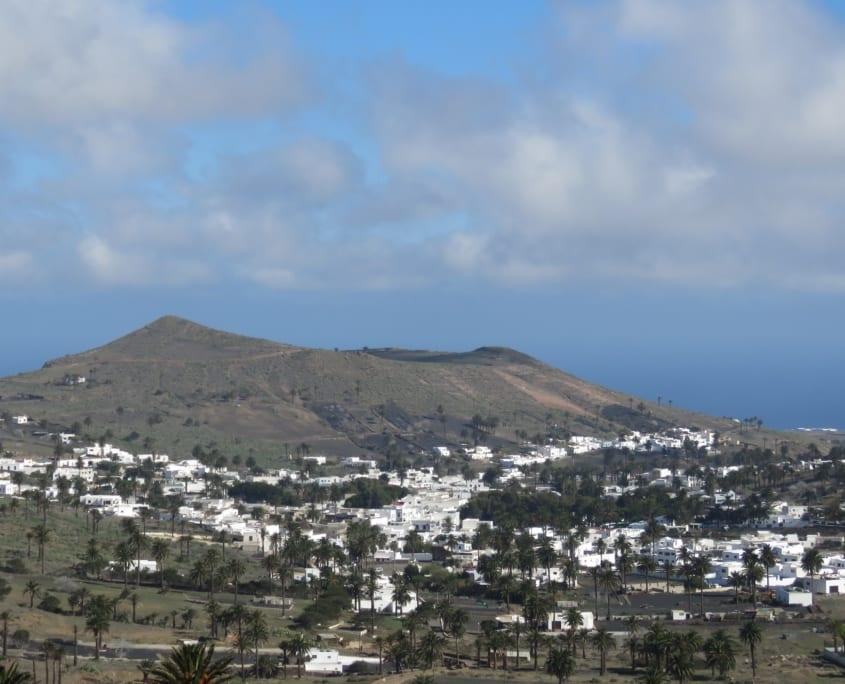 Haria op Lanzarote