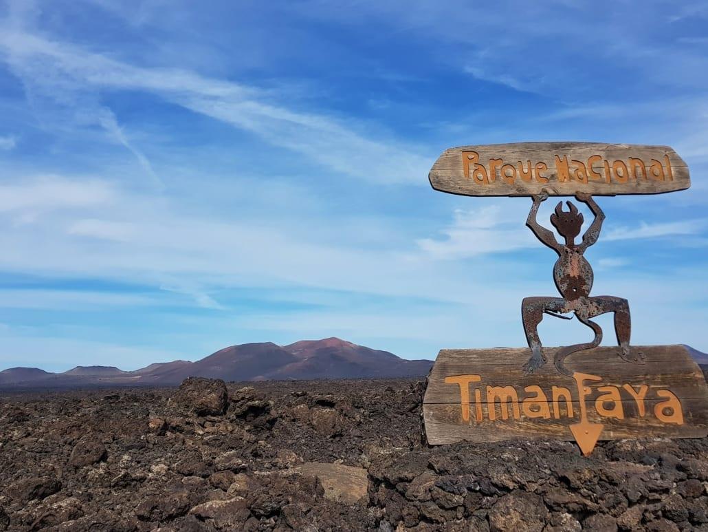 Timanfaya op Lanzarote