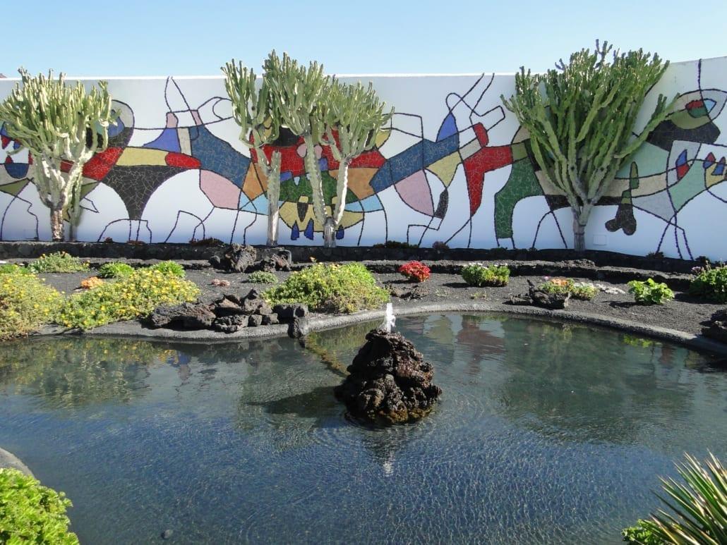 Tuin van Fundación César Manrique