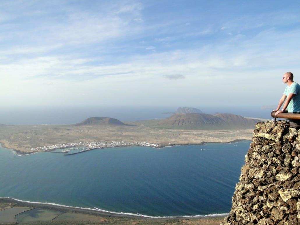Uitzicht vanaf Mirador del Río