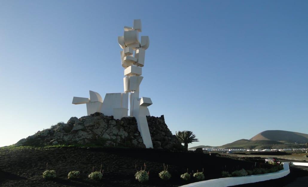Monumento al Campesino op Lanzarote