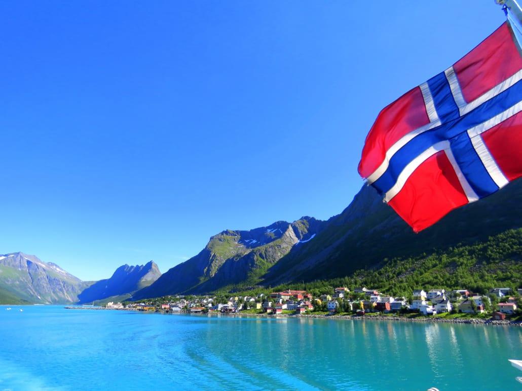 Veerboot Andenes-Gryllefjord