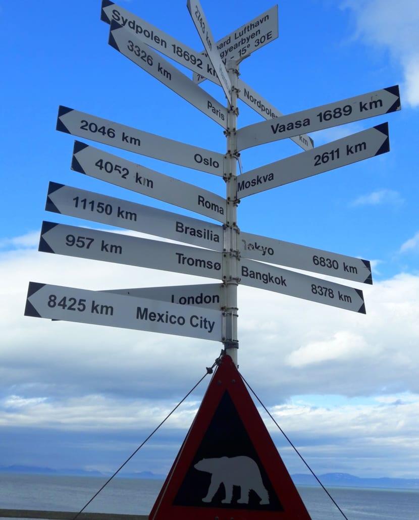 Geland op Spitsbergen!