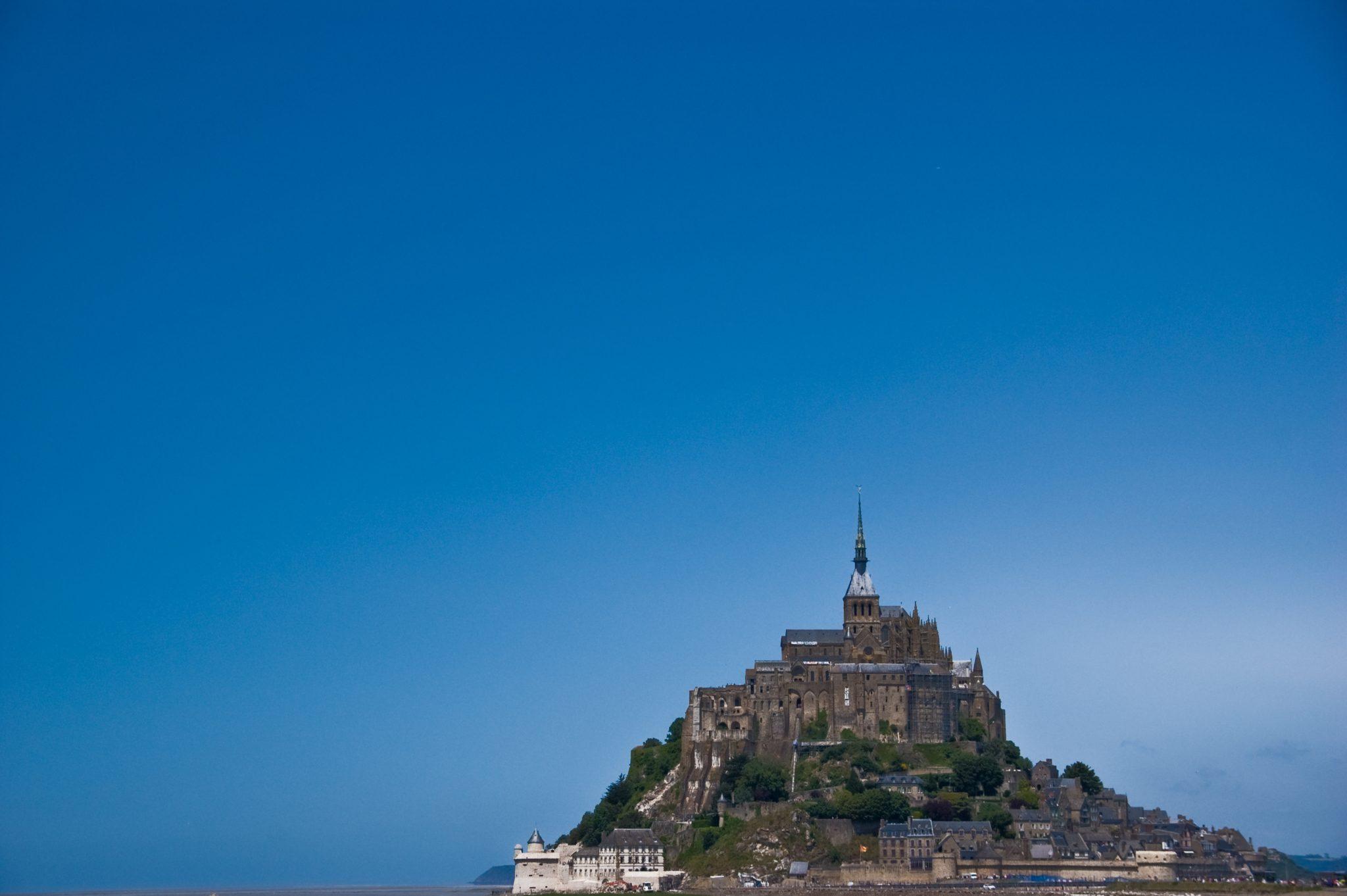 Mont St. Michel. Vindt je vriendin leuk.