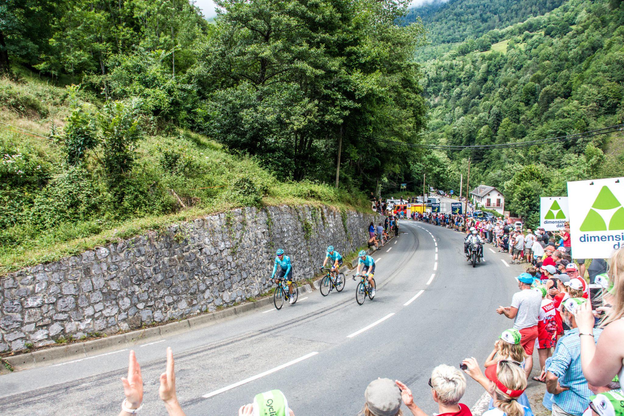 De Tour de France bezoeken