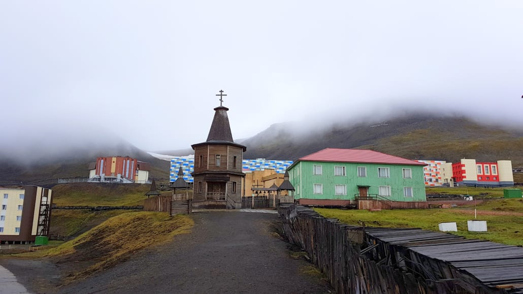 Kapelletje in Barentsburg