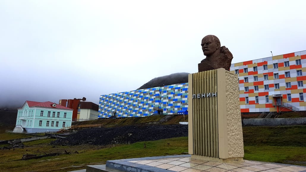 Lenin in Barentsburg