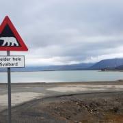 Pas op voor ijsberen op Spitsbergen