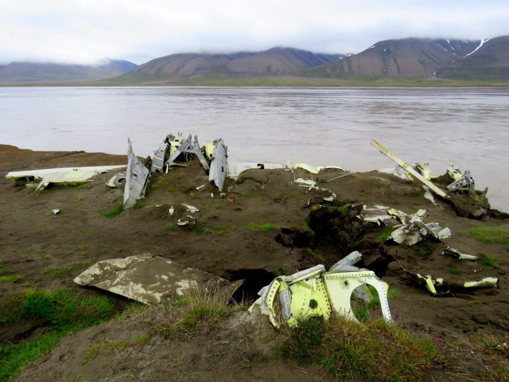 Duits vliegtuigwrak op Spitsbergen
