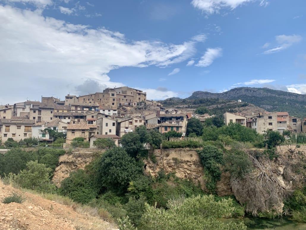 Beceite bij de Rio Matarraña