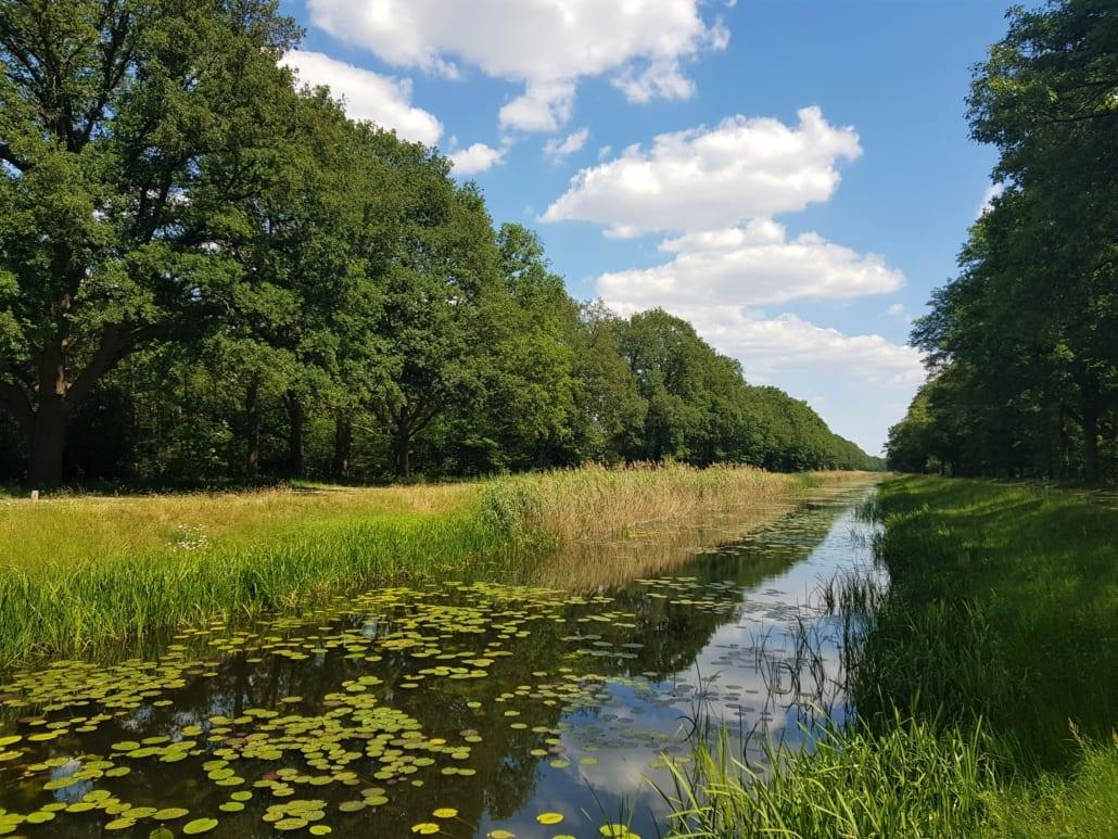 Kanaal Almelo-Nordhorn in Twente