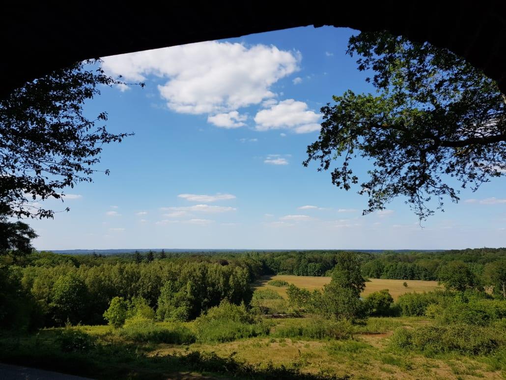 Uitzicht vanaf de Tankenberg